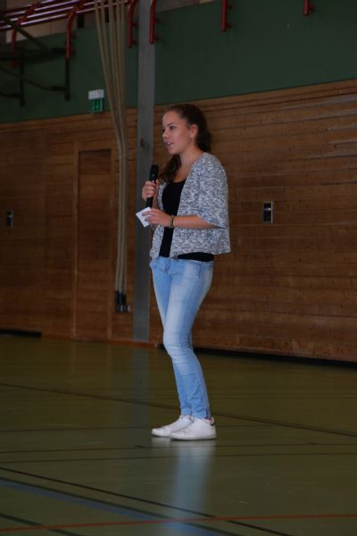 Leonie Riedle - Schülersprecherin