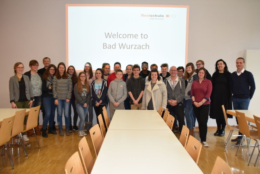 Besuch aus Jersey | Realschule Bad Wurzach